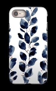 Blue Leaf  case IPhone 8 tough
