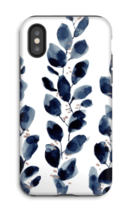 Feuilles d'encre Coque  IPhone X tough