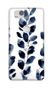 Blue Leaf  case Pixel 2