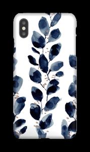 Blå løv deksel IPhone XS Max
