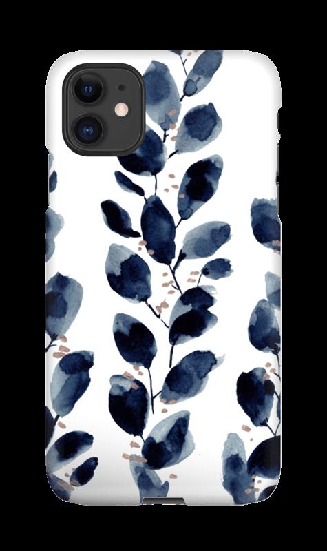 Blue Leaf Iphone 11 Case