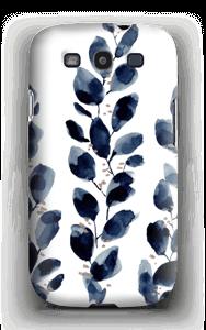 Blå løv deksel Galaxy S3