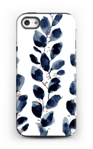 Blå løv deksel IPhone 5/5s tough