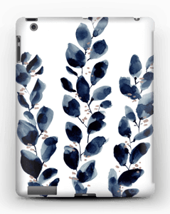 Blue Leaf  case IPad 4/3/2