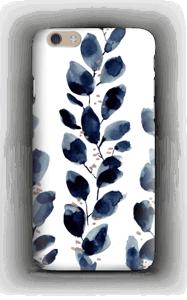 Sininen lehti kuoret IPhone 6 Plus