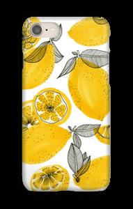 Kleine gele citroenen hoesje IPhone 8