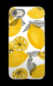 Keltaiset sitruunat kuoret IPhone 8 tough