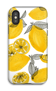 Petits citrons jaunes Coque  IPhone X tough