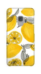 Små gule citroner cover Galaxy S9