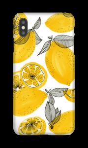 Kleine gele citroenen hoesje IPhone XS Max