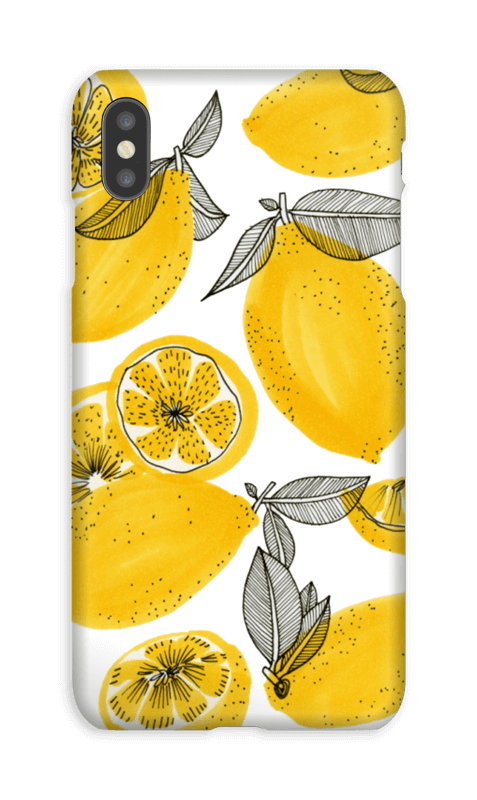 Sweet Lemons  case IPhone XS Max