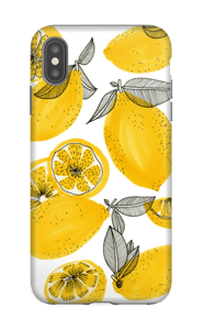 Petits citrons jaunes Coque  IPhone XS Max tough