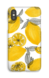 Piccoli limoni gialli cover IPhone XS