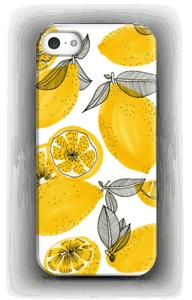 Kleine gele citroenen hoesje IPhone 5/5S