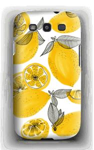 Gule små sitroner deksel Galaxy S3