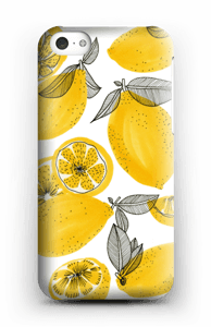Keltaiset sitruunat kuoret IPhone 5c