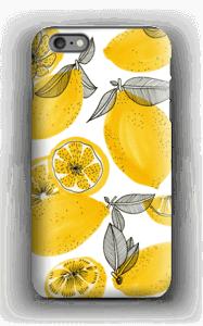 Gula små citroner skal IPhone 6s Plus tough