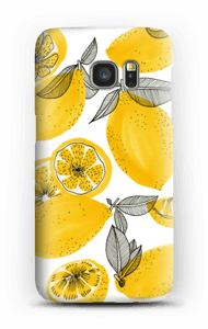 Gelbe kleine Zitronen Handyhülle Galaxy S7