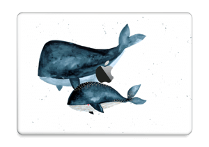 """Two Whales  Skin MacBook Pro 13"""" 2016-"""