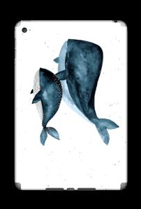 To hvaler i blått Skin IPad Mini 4