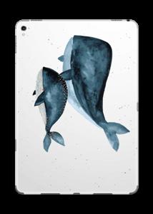 To hvaler i blått Skin IPad Pro 9.7