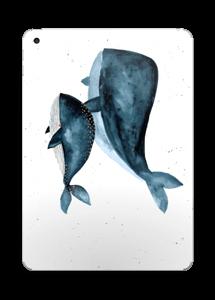 To hvaler i blått Skin IPad 2017