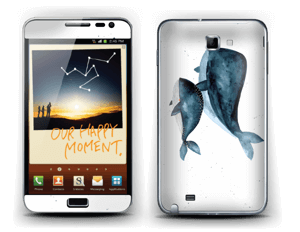 Two Whales  Skin Galaxy Note