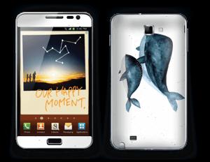 To hvaler i blått Skin Galaxy Note