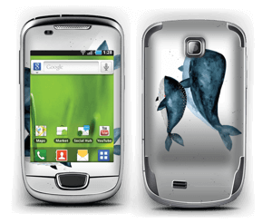 Two Whales  Skin Galaxy Mini