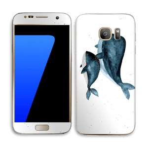 Two Whales  Skin Galaxy S7