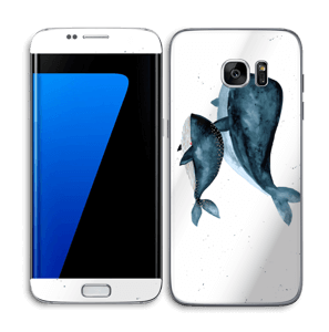 Two Whales  Skin Galaxy S7 Edge