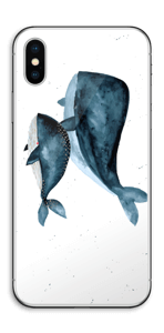 Two Whales  Skin IPhone X