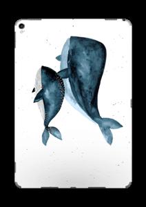 Dos ballenas en azul Vinilo  IPad Pro 10.5