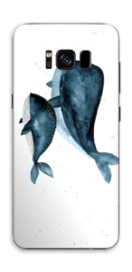 Two Whales  Skin Galaxy S8