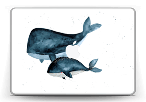"Two Whales  Skin MacBook Pro 13"" -2015"
