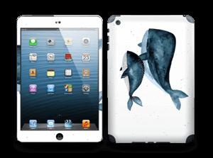 Deux baleines bleues Skin IPad mini 2