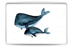 Two Whales  Skin Laptop 15.6