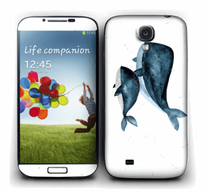 Two Whales  Skin Galaxy S4