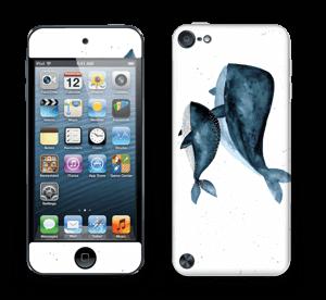 To hvaler i blått Skin IPod Touch 5th Gen