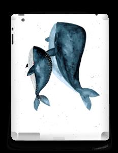 Deux baleines bleues Skin IPad 4/3/2