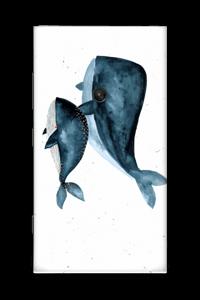 Two Whales  Skin Nokia Lumia 920