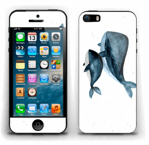 Two Whales  Skin IPhone 5s