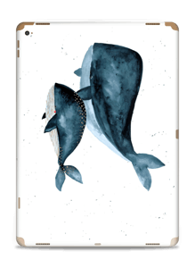 Two Whales  Skin IPad Pro 12.9