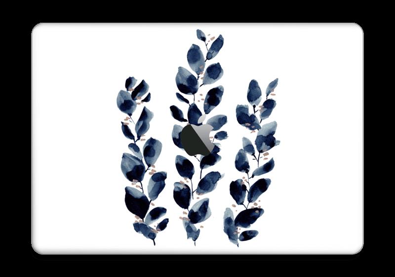 """Blå løv Skin MacBook Pro 13"""" 2016-"""