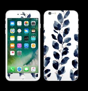 Blå løv Skin IPhone 6 Plus