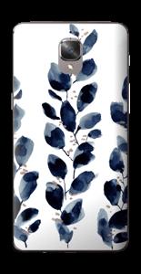 Blå løv Skin OnePlus 3