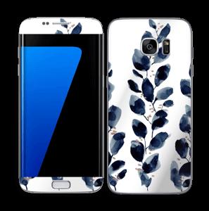 Blå løv Skin Galaxy S7 Edge