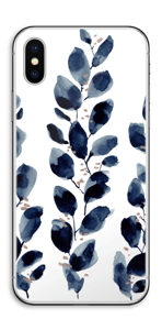 Blue leaf  Skin IPhone X