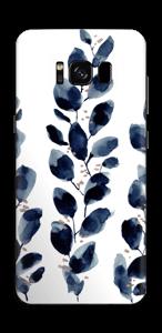 Blå löv Skin Galaxy S8
