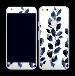 Blå blade Skin Pixel